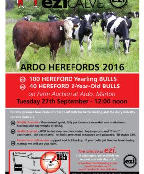 Ardo Herefords - 27 September 2016