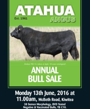Atahua – 13 June 2016