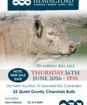 Hemingford - 16 June 2016