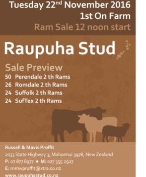 Raupuha - 22 November 2016